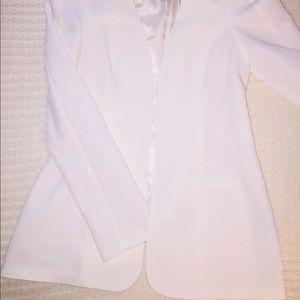 Jackets & Blazers - Kardashian Kollection Cream Tuxedo Dinner Jacket